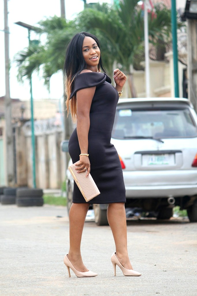 Lagos City Chic X Inighi How To Style A Black Dress Blac Flickr