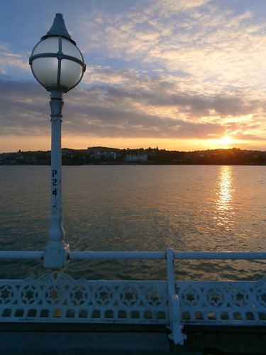 2 Sunset from Princess Pier, 1890, Torquay, Devon 06-17