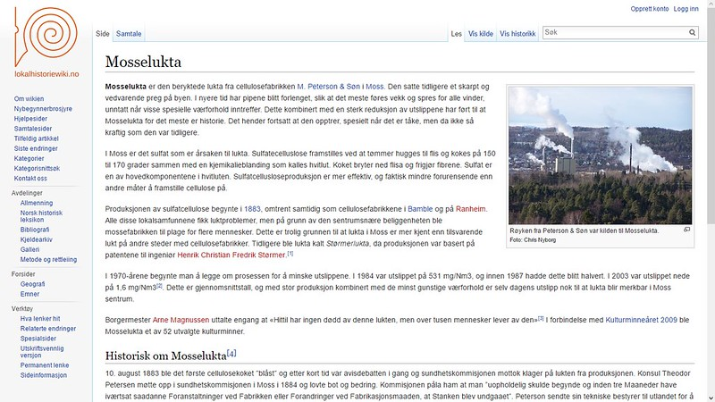 mosselukta wiki