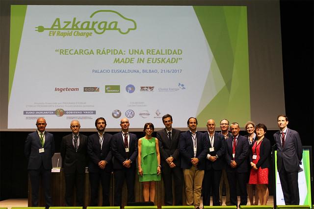 Jornada final #Azkarga e Inauguración puntos de recarga para vehículo eléctrico