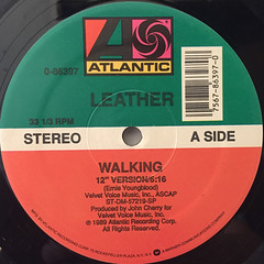 LEATHER:WALKING(LABEL SIDE-A)