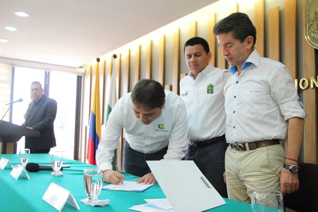 Acto de declaratoria del Distrito Regional de Manejo Integrado, Ciénaga de Barbacoas