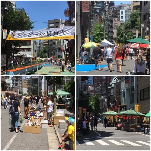 恵比寿 ビール坂祭り 2017 午前中 (2017.6.4)