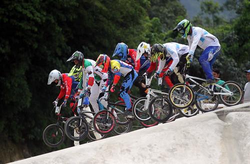 Primera fecha del BMX en el Festival Deportivo