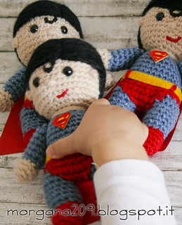 Superman&WonderwomanAmigurumi_10w | by Morgana209