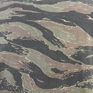 Tiger Stripe Camouflage - US Special Forces during the Vietnam War Angelo Caroli vintage