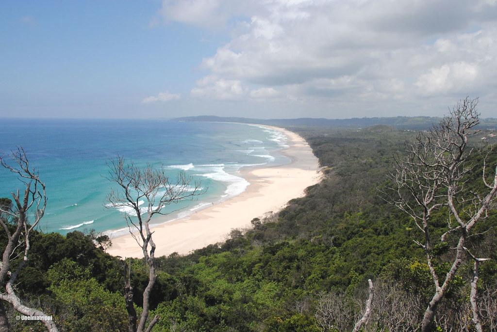Loppumaton ranta, Byron Bay, Australia