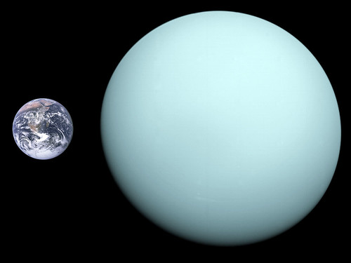 Uranus Earth size comparison_2