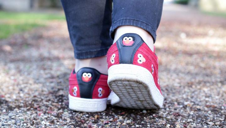 Puma and Elmo collaboration
