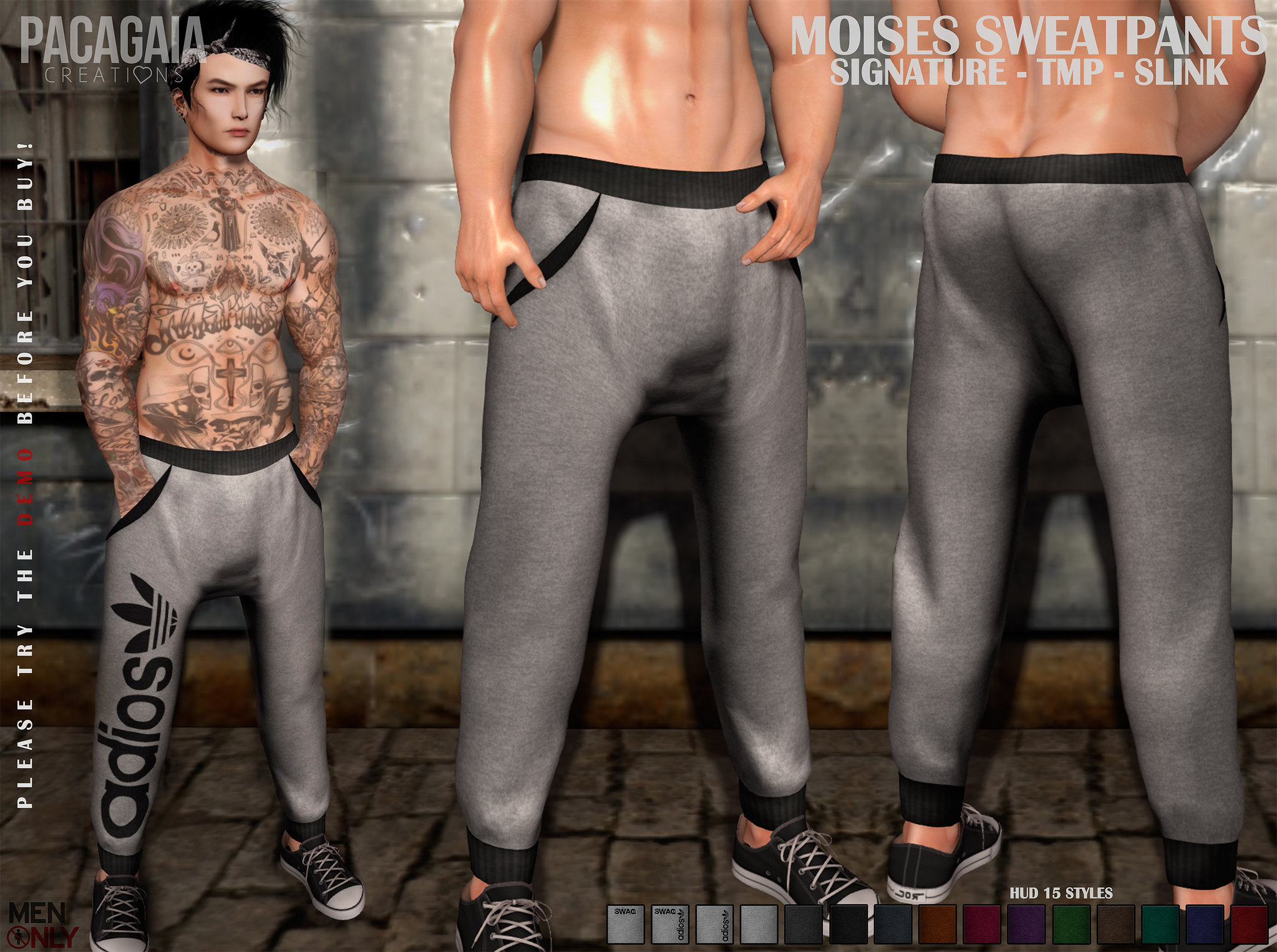 NEW!! Moises SweatPants ❤