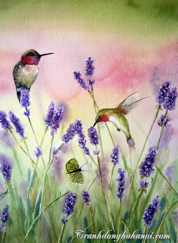 Hinh anh thien nhien gan gui trong tranh ve hoa oai huong
