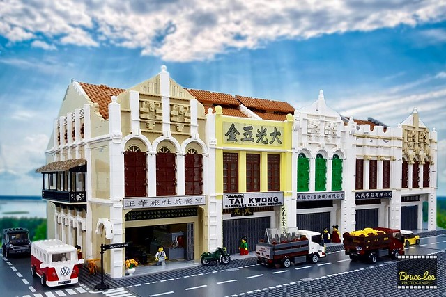 Faithful Lego Recreation Of Kuala Lumpur 39 S Chinatown The