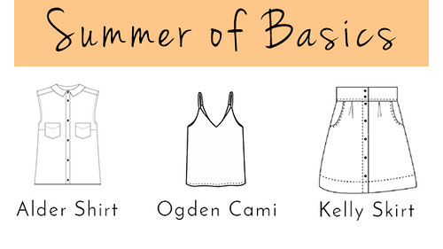 Summer of Basics Sewing Plans