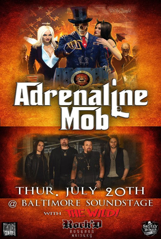 Adrenaline Mob at Baltimore Soundstage