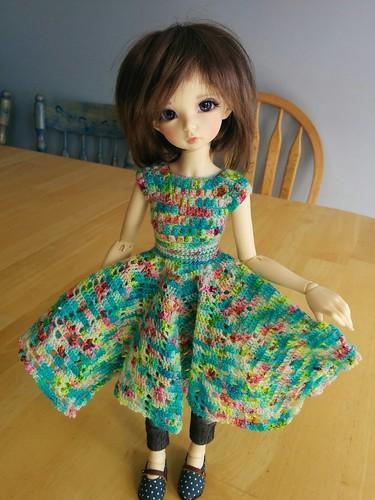 monets garden dress