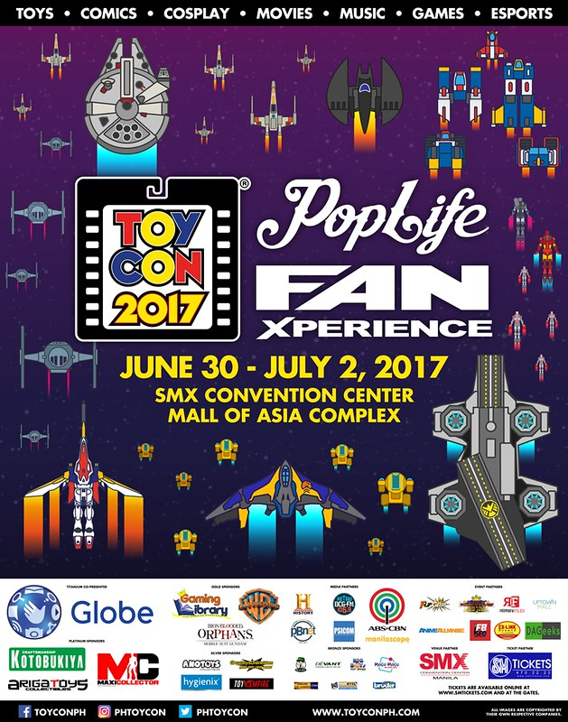 Toycon Pop Life Fan Xperince 2017 Goes Bigger, Better and Bolder to where no Con has gone before!