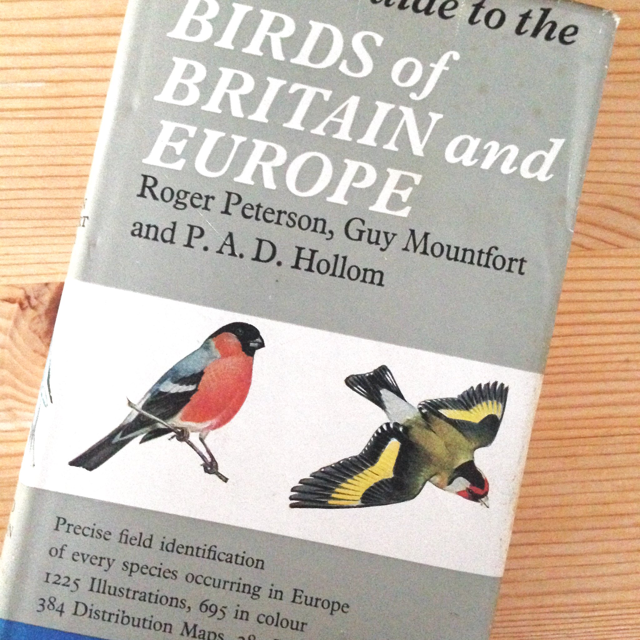 Field guide to birds of Britain