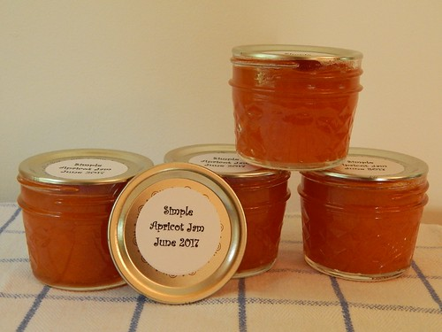 Simple Apricot Jam