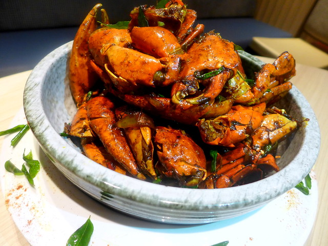 Stir Fried Crab With Asian Spices