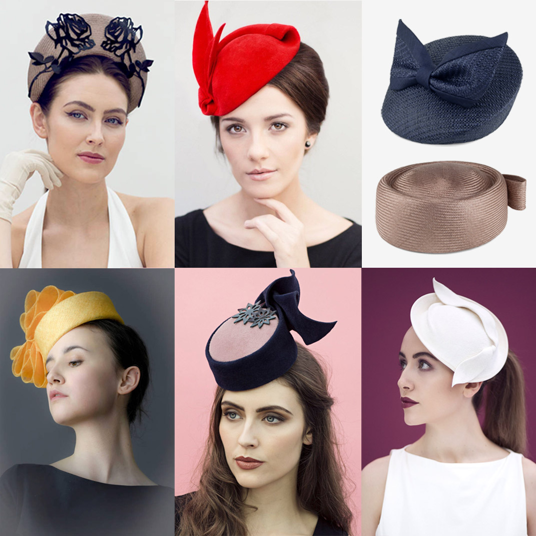 34 Modern Wedding Guest Hats and Fascinators - Pillbox and vintage style  hats ... c454e2c2872