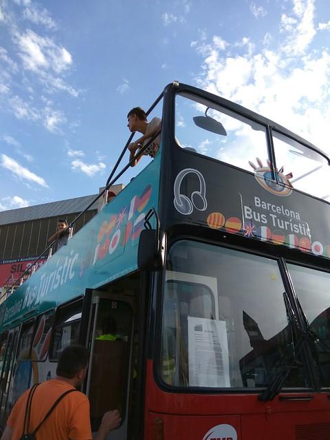 Espai Joves. Exposició autobussos clàssics