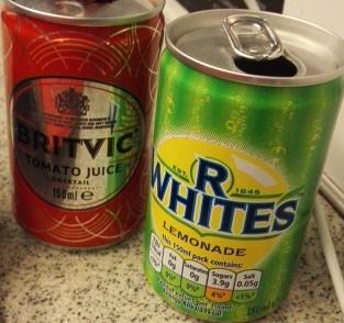 イギリスの鉄道のファーストクラスラウンジで見れる飲み物