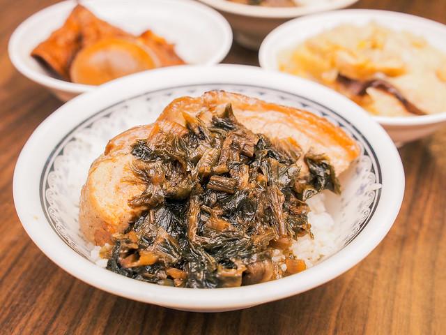 台北/萬華/華西街–艋舺小吃巡禮(十八)–客家梅干飯