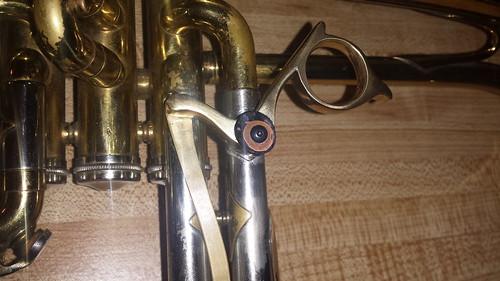Flugelhorn third valve trigger view topic trumpet for Yamaha 6310z flugelhorn