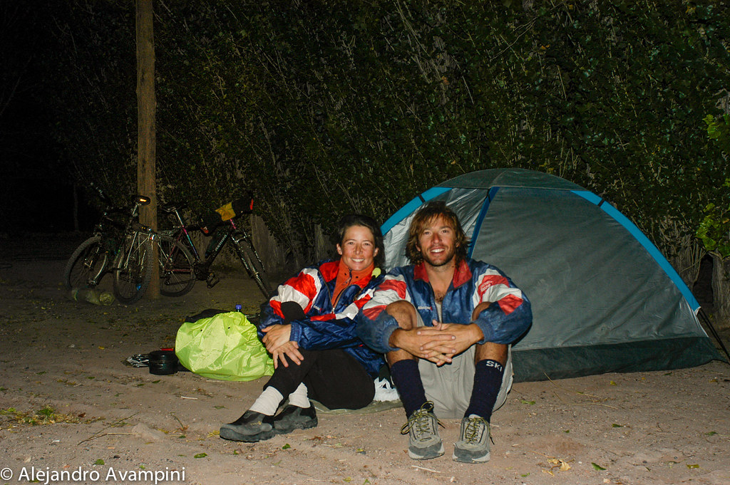 Ultimo Acampe En Las Plumas Antes De Tomar El Colectivo A Puerto Madryn
