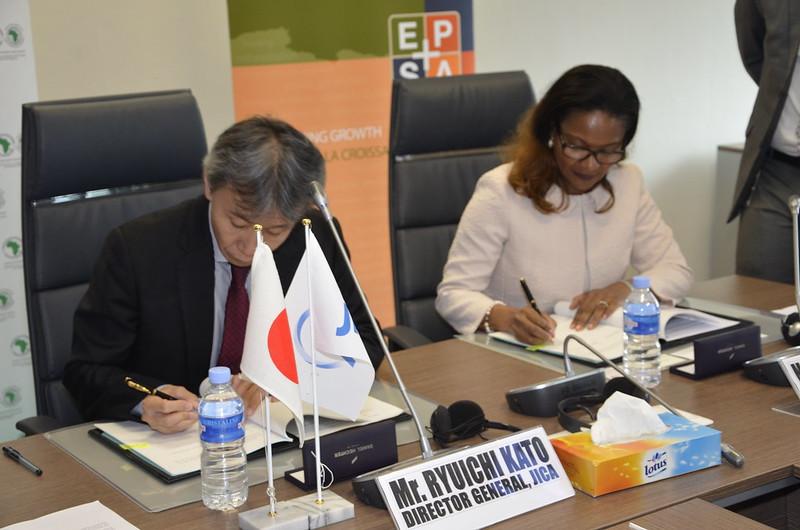AfDB and JICA sign a loan under EPSA Initiative, 15th June 2017