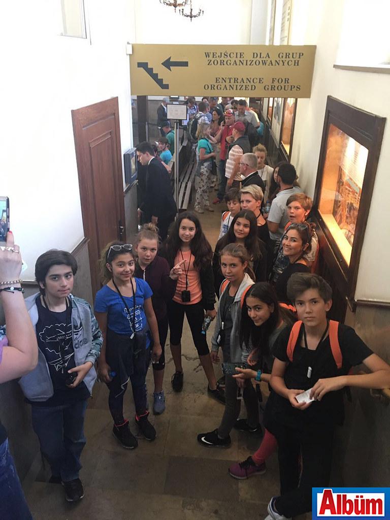 Öhep Ortaokulu Polonya'da