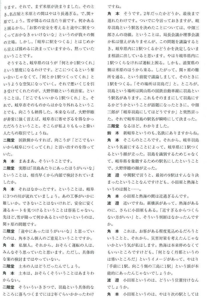 新幹線岐阜羽島駅は大野伴睦の政治駅か (10)
