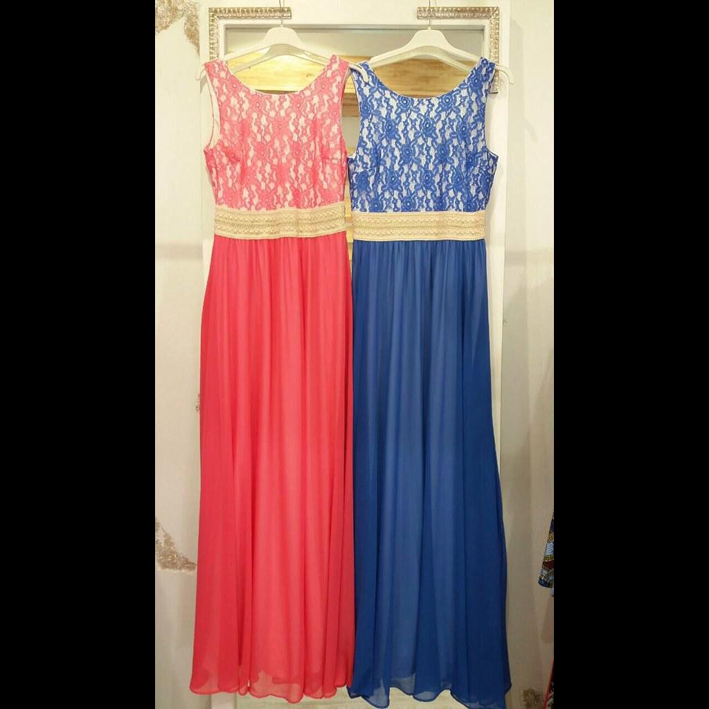 ... Primadonnapatras Maxi φόρεμα μουσελινα με δαντελενιο μπούστο  20f0b2752e7