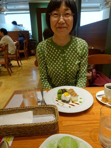 Yasuko Shirasu in Keio Depaato, 24 June 2017