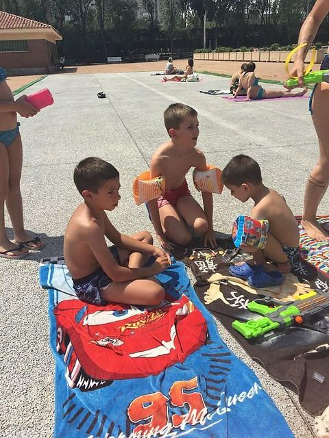 Primaria piscina. 2017.