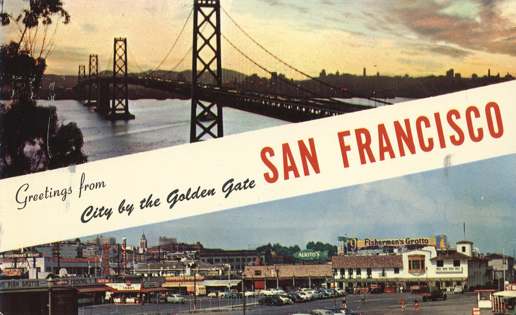 Greetings from san francisco california city by the golde flickr greetings from san francisco california by the cardboard america archives m4hsunfo