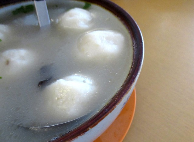 Home Cook Foochow fish ball soup