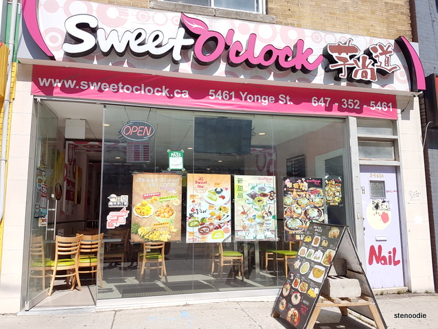 Sweet O'clock storefront
