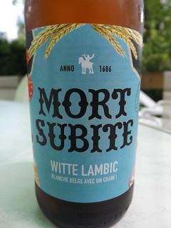 Mort Subite, Witte Lambic, Belgium