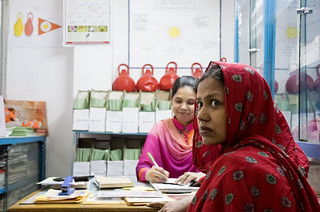 Woman visits a clinic | by World Bank Photo Collection