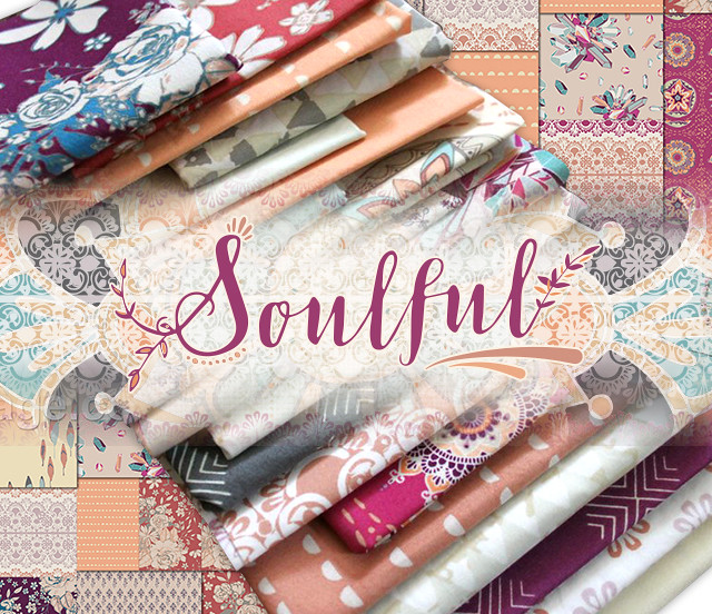 Art Gallery Fabrics Soulful Collection by Maureen Cracknell