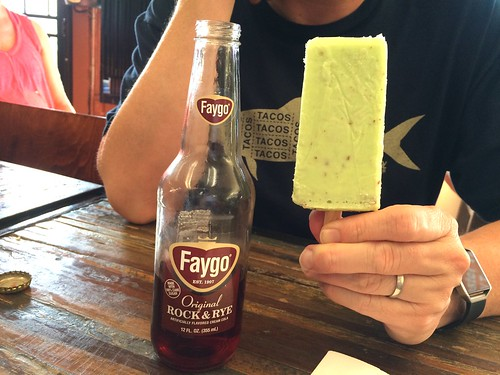 Rudy's Faygo and paletas