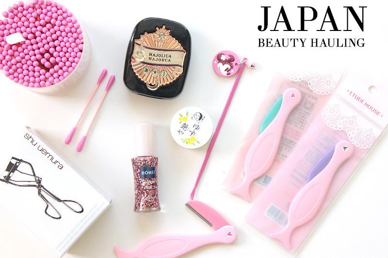 japan beauty hauling