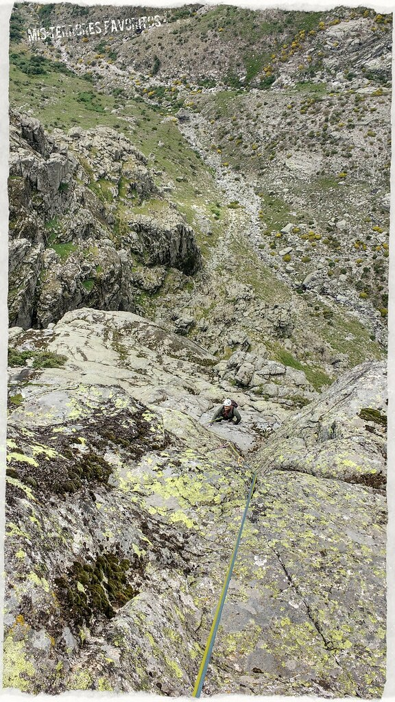 Risco Gordo pared oeste Los Mahoumetanos 300m6c
