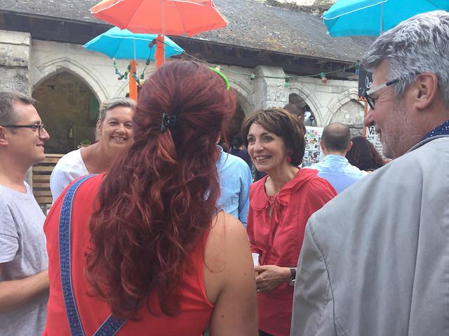Marisol TOURAINE à Yzeures-sur-Creuse, Preuilly-sur-Claise, Veigné, Saint-Avertin, Saint-Pierre-des-Corps & Cormery