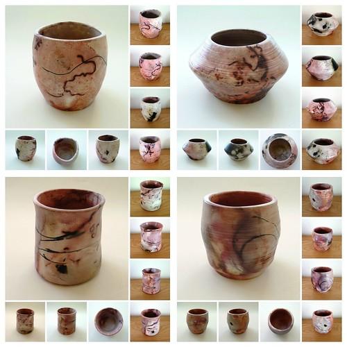 saggar fired ceramic pots
