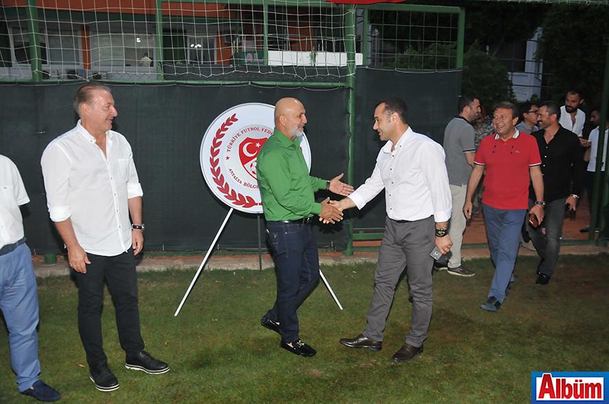 Alanyaspor Kulüp Başkanı Hasan Çavuşoğlu, Alanya Belediye Başkanı Adem Murat Yücel