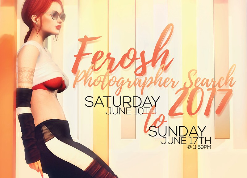 Ferosh: Photographer Search 2017