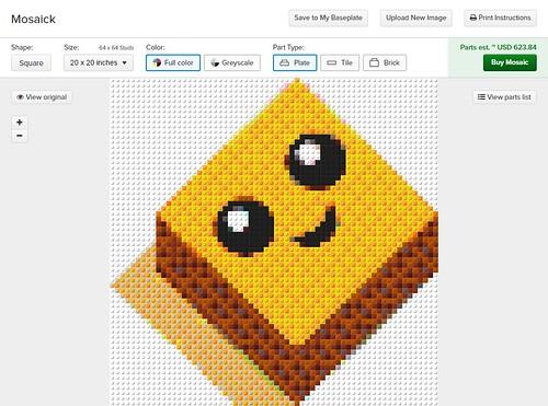 BrickLink Mosaick