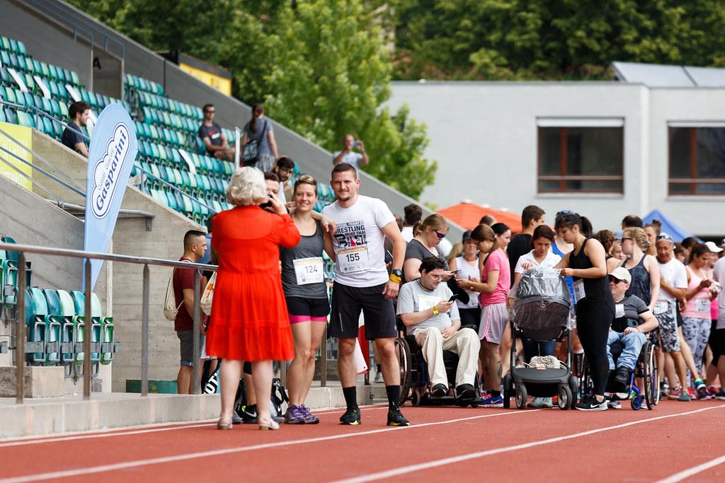 Loris Oehen für den Lauf gegen Leukämie 2017 in Basel